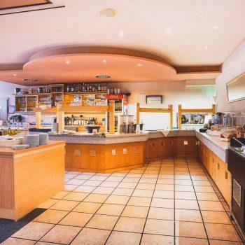 Rhön Residence Frühstücksbereich
